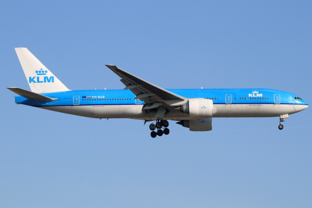 Stort flygplan
